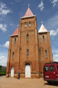 From Tuesday 1/21--the first Lutheran church in Madagascar (1863)